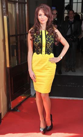 Amy Childs 2012 Tesco Magazine Mum of the Year 11.03.12