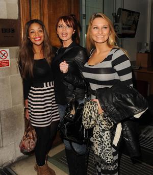 Amy Childs Sam Faiers BBC Studios Nov 22, 2010