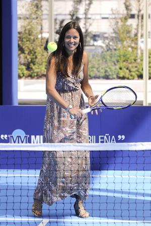 Ana Ivanovic at the Madrid Open 12-04-2010