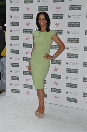Andrea McLean Wimbeldon party June 17, 2010