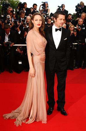 Angelina Jolie inglourious basterds premiere during the 62nd international Cannes Film Festival