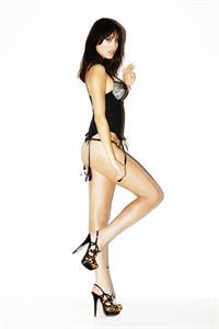 Alina Puscau in lingerie
