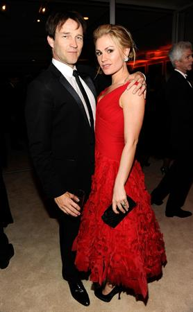 Anna Paquin attending the Vanity Fair Oscar Party in West Hollywood on February 27, 2011