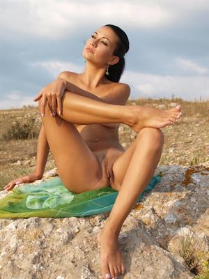 Margo A enjoying the fresh air