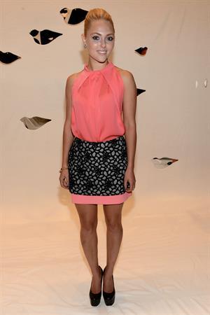 AnnaSophia Robb - Diane Von Furstenberg - Spring 2013 Mercedes-Benz Fashion Week, Sep 9, 2012