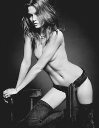 Josephine Skriver topless in Lui Magazine Dec 2013