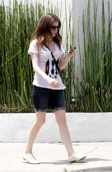 Anna Kendrick in Los Angeles on 9/6/2012