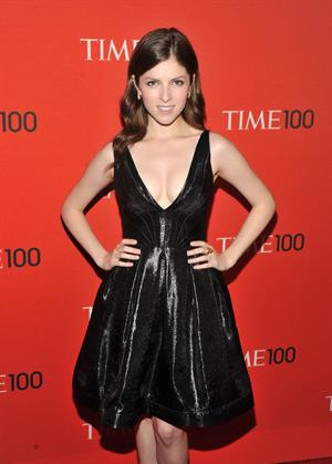 Anna Kendrick Busty at Time 100 Gala in New York City on April 26, 2011