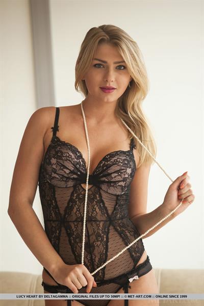 Lucy Heart in lingerie