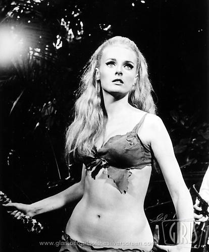 Celeste Yarnall in a bikini
