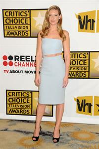 Anna Torv attending the Critics Choice Television Awards in Beverly Hills on June 20, 2011