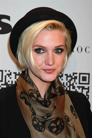 Ashlee Simpson at the Rock Republic for Kohl's fashion show on February 10, 2012