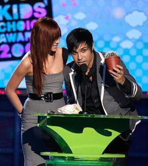 Ashlee Simpson Nickelodeon's 2008 Kid's Choice Awards in Westwood