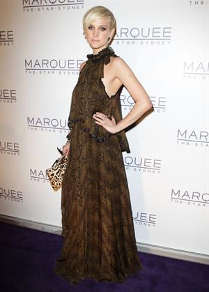 Ashlee Simpson Marquee at the Star Opening in Sydney on March 30, 2012