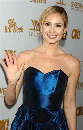 Ashley Jones OK Magazine and Britweek Oscars party at the London West Hollywood on February 25, 2011