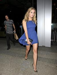 Ashley Benson Boa Restaurant in Beverly Hills on August 10, 2011