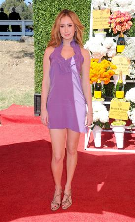 Ashley Jones attends the Veuve Clicquot Polo Classic - Pacific Palisades, Oct. 5, 2013