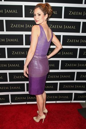 Ashley Jones at Zaeem Jamal Boutique Launch Los Angeles on March 28, 2012