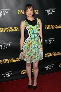 Ashley Rickards Los Angeles Premiere, Jan 6, 2013
