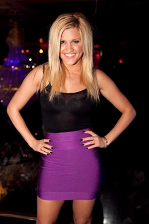 Ashley Roberts at Silk Road Nightclub in Melbourne on March 28, 2010