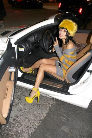 Bai Ling At Greystone Manor in West Hollywood December 27-2012