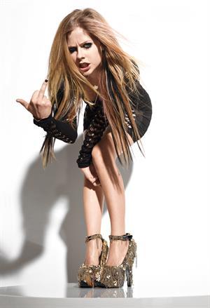 Avril Lavigne - 2010 Don Flood photoshoot for Maim