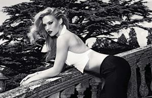 Bar Refaeli - By Simon Emmert For GQ Germany December 2012