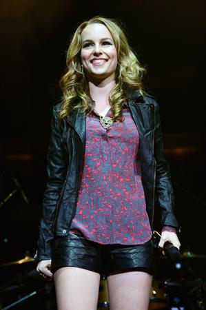 Bridgit Mendler – Q102 Jingle Ball 12/5/12