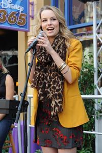 Bridgit Mendler performing at Studio Disney 365 10/23/12