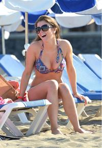 Brooke Vincent - bikini candids In Tenerife 4/21/12