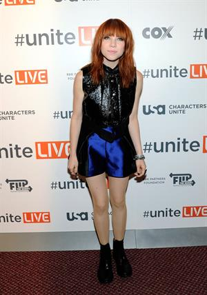 "Carly Rae Jepsen ""UniteLIVE: The Concert to Rock Out Bullying"" in Las Vegas, October 3, 2013"