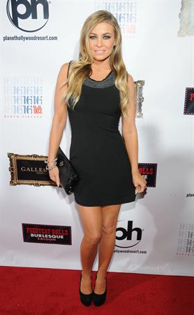 Carmen Electra Hosts Evening at the Gallery Nightclub at Planet Hollywood in Las Veges 12.01.13