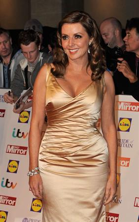 Carol Vorderman Pride of Britain Awards (October 7, 2013)