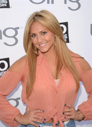 Cassie Scerbo - DoSomething & Bing Summer of Doing Event in Los Angeles (June 1, 2012)