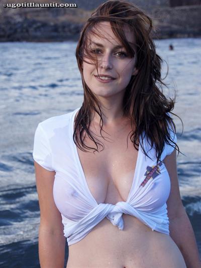 Karly in a bikini - breasts