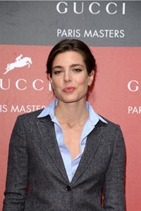 Charlotte Casiraghi Gucci Paris Masters 2012 - Day 3 (Dec 2, 2012)