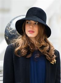 Charlotte Casiraghi Monaco National Day 2012 (Nov 19, 2012)