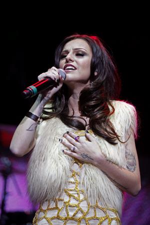 Cher Lloyd performing at the Wells Fargo Center in Philadelphia 12/5/12