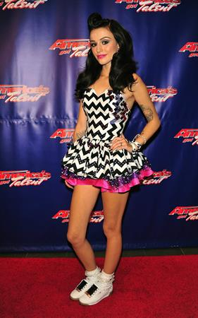 Cher Lloyd - America's Got Talent Post Show Red Carpet in New Jersey (July 25, 2012)