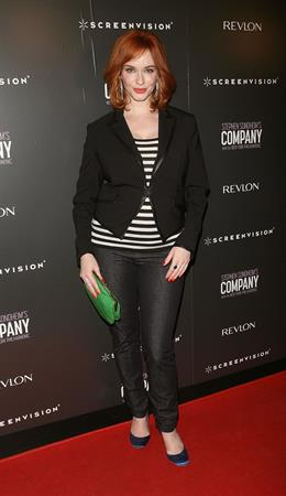 Christina Hendricks Company premiere in New York on June 8, 2011