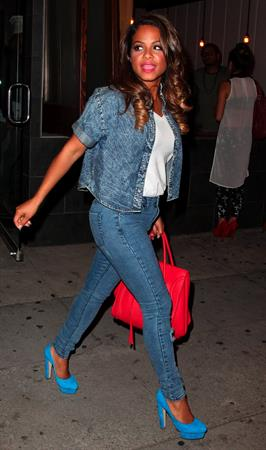 Christina Milian Goes To Dinner in Hollywood - October 26, 2012