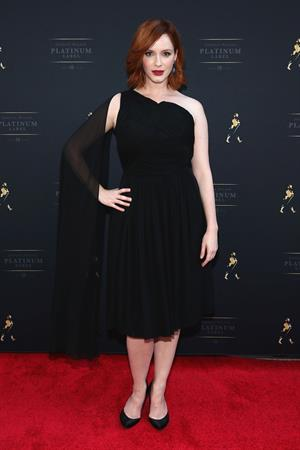 Christina Hendricks The Launch of Johnnie Walker Platinum, October 2, 2013