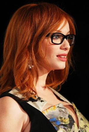 Christina Hendricks Spectacle Wearer Of The Year event in Sydney 10/03/12