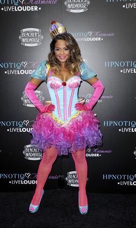 Christina Milian - HPNOTIQ Halloween Launch 10/26/12