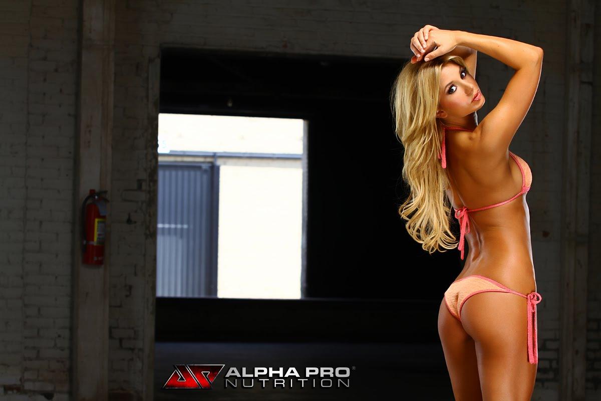 Sara Balint in a bikini