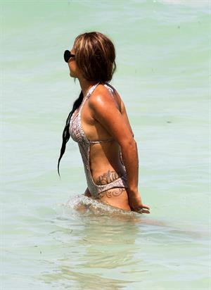 Christina Milian - At the beach (bikini) - Miami Florida 19.07.12