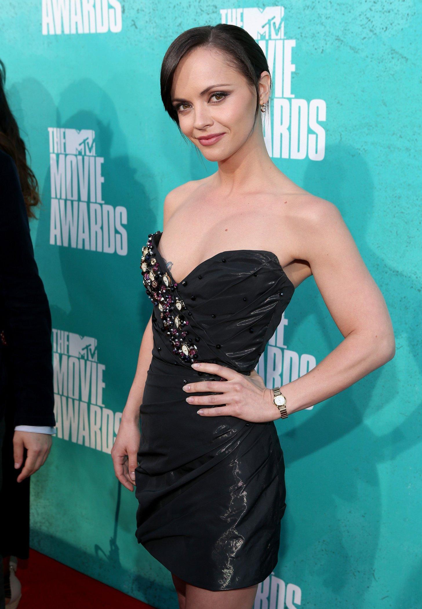 Christina Ricci at 2012 MTV Movie Awards, Los Angeles, June 3, 2012