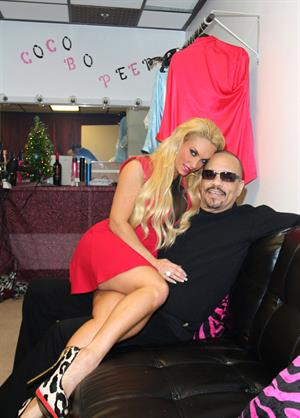 Coco Austin before her meet and greet and Peepshow in Las Vegas 21-Dec-2012