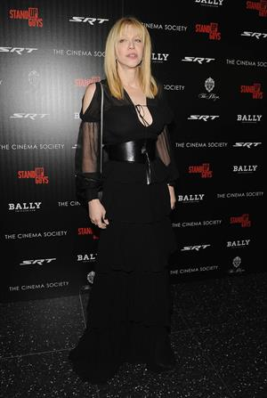 Courtney Love attends the premiere of  Stand Up Guys  December 9, 2012