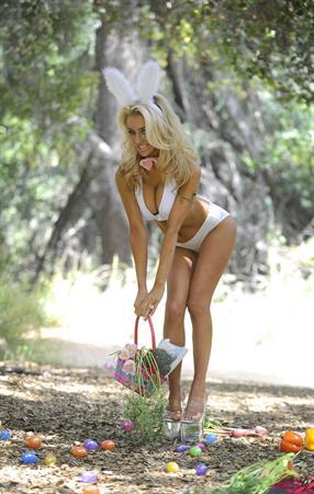 Courtney Stodden Easter Bunny shoot 2012